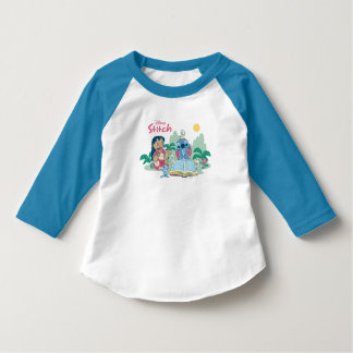 Lilo & Stitch | Reading the Ugly Duckling T-Shirt