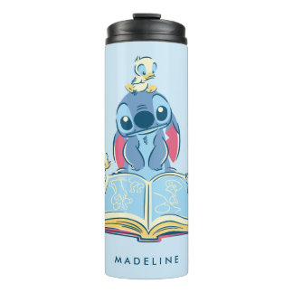 Lilo & Stitch | Reading the Ugly Duckling Thermal Tumbler
