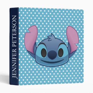 Lilo & Stitch | Stitch Emoji 3 Ring Binder