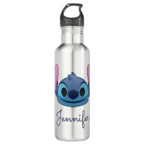 Lilo & Stitch | Stitch Emoji Stainless Steel Water Bottle
