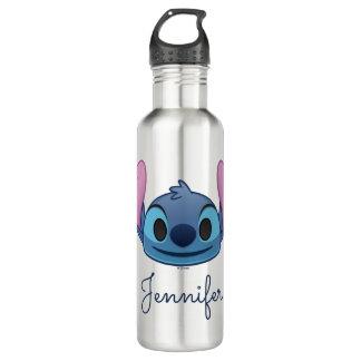 Lilo & Stitch | Stitch Emoji Stainless Steel Water Bottle