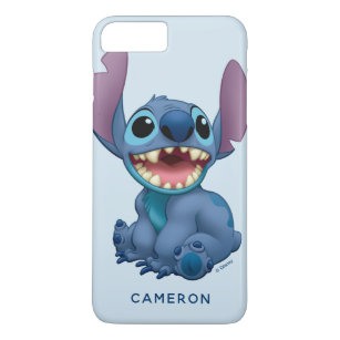online store 509b4 2b5e5 Lilo & Stitch | Stitch Excited - Add Your Name iPhone 8 Plus/7 Plus Case