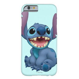 Lilo & Stitch   Stitch Excited Barely There iPhone 6 Case