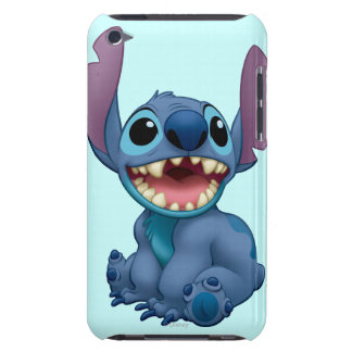 Lilo & Stitch Stitch excited Barely There iPod Covers