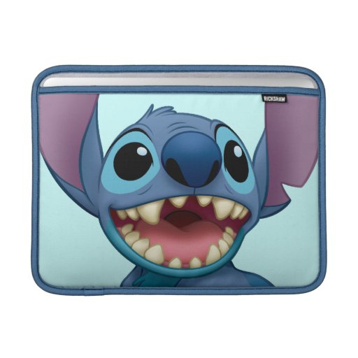 Lilo & Stitch Stitch excited Sleeves For MacBook Air