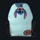 "Lilo &amp; Stitch | Stitch Excited Messenger Bag<br><div class=""desc"">Lilo &amp; Stitch Stitch</div>"