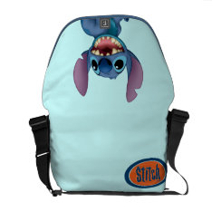 Lilo & Stitch | Stitch Excited Messenger Bag at Zazzle