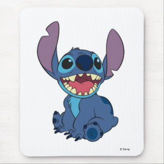Lilo & Stitch | Stitch Excited Mouse Pad