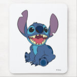 Lilo & Stitch Stitch excited Mousepads