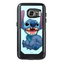 Lilo & Stitch   Stitch Excited OtterBox Samsung Galaxy S7 Case