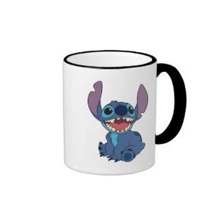 Lilo & Stitch Stitch excited Ringer Mug