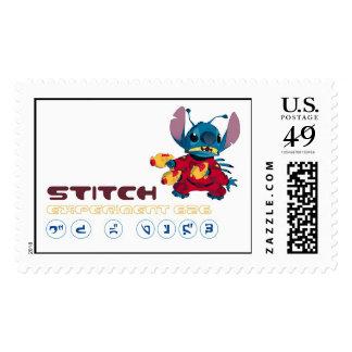 Lilo & Stitch Stitch Logo Postage Stamp