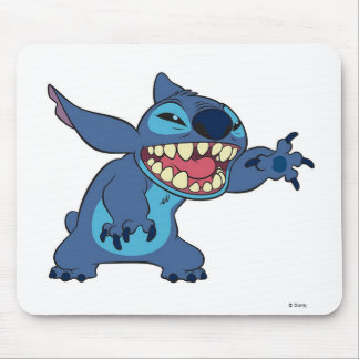 Lilo & Stitch Stitch teeth Mouse Pad