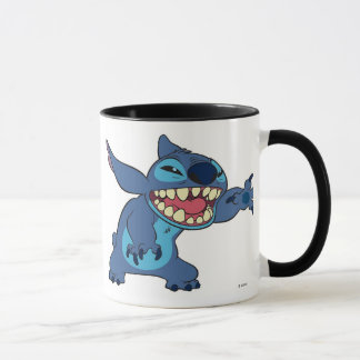 Lilo & Stitch Stitch teeth Mug