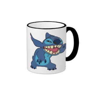 Lilo & Stitch Stitch teeth Ringer Mug