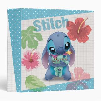 Lilo & Stitch | Stitch with Ugly Doll 3 Ring Binder