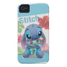 Lilo & Stitch | Stitch With Ugly Doll Case-mate Iphone 4 Case at Zazzle