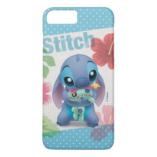 best sneakers 11829 9f9e1 Lilo & Stitch | Stitch with Ugly Doll iPhone 8 Plus/7 Plus Case