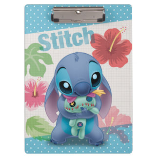 Lilo & Stitch | Stitch with Ugly Doll Clipboard