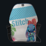 "Lilo &amp; Stitch | Stitch with Ugly Doll Courier Bag<br><div class=""desc"">Lilo and Stitch</div>"