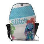 Lilo &amp; Stitch | Stitch with Ugly Doll Courier Bag<br><div class='desc'>Lilo and Stitch</div>