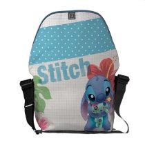 Lilo & Stitch | Stitch with Ugly Doll Courier Bag