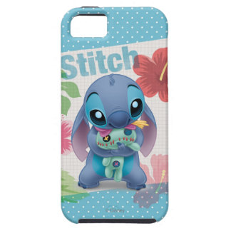 Lilo & Stitch | Stitch with Ugly Doll iPhone SE/5/5s Case