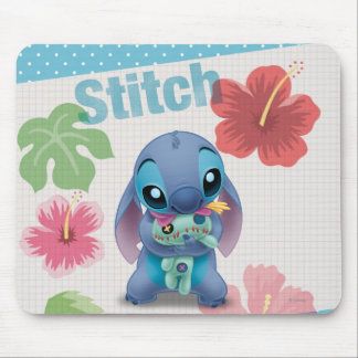 Lilo & Stitch | Stitch with Ugly Doll Mouse Pad