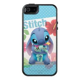 Lilo & Stitch   Stitch with Ugly Doll OtterBox iPhone 5/5s/SE Case
