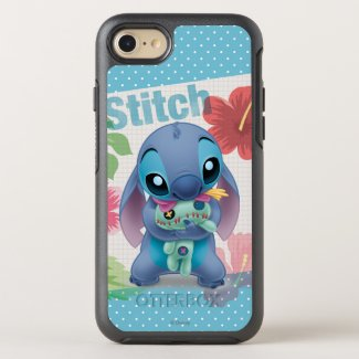 Lilo & Stitch | Stitch with Ugly Doll OtterBox iPhone Case