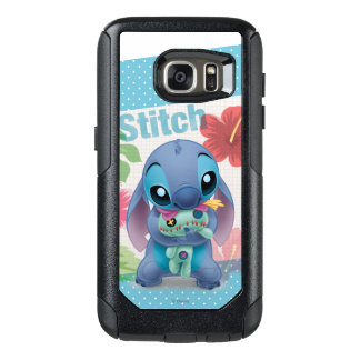 Lilo & Stitch | Stitch with Ugly Doll OtterBox Samsung Galaxy S7 Case