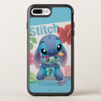 Lilo & Stitch | Stitch with Ugly Doll OtterBox Symmetry iPhone 8 Plus/7 Plus Case