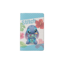 Lilo & Stitch   Stitch with Ugly Doll Pocket Moleskine Notebook