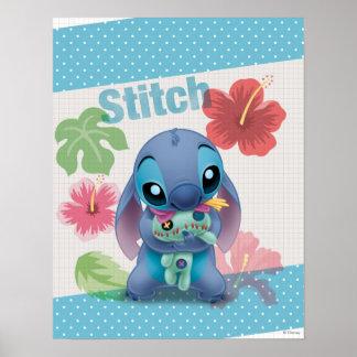 Lilo & Stitch | Stitch with Ugly Doll Poster