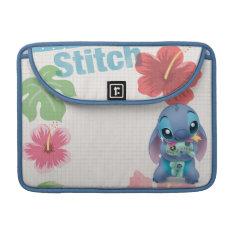 Lilo & Stitch | Stitch With Ugly Doll Sleeve For Macbooks at Zazzle