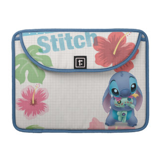 Lilo & Stitch | Stitch with Ugly Doll Sleeve For MacBooks