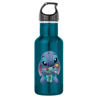 Lilo & Stitch | Stitch with Ugly Doll Stainless Steel Water Bottle