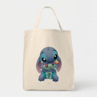 Lilo & Stitch | Stitch with Ugly Doll Tote Bag