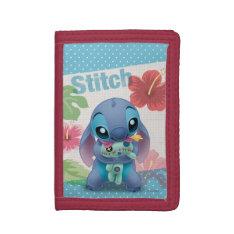 Lilo & Stitch | Stitch With Ugly Doll Trifold Wallets at Zazzle
