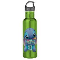 Lilo & Stitch | Stitch with Ugly Doll Water Bottle