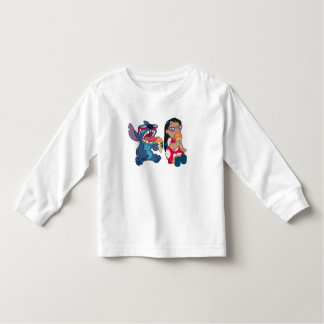 Lilo & Stitch's Lilo and Stitch Eating Ice Cream Toddler T-shirt