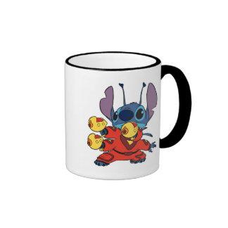 Lilo & Stitch's Stitch with Ray Guns Mugs