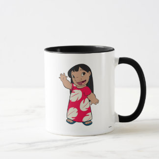 Lilo Waving Mug