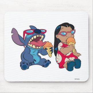 Lilo y Lilo y la puntada de la puntada que comen e Alfombrilla De Ratones