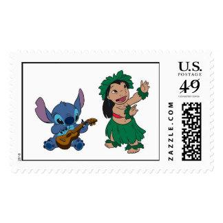 Lilo y puntada sello