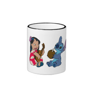 Lilo y puntada taza