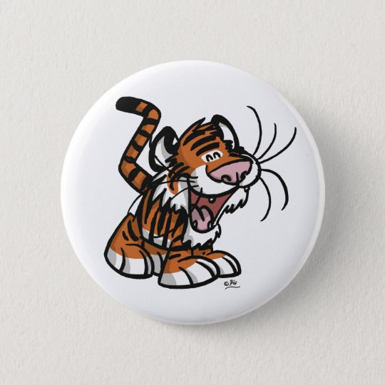 Lil'Tiger button badge