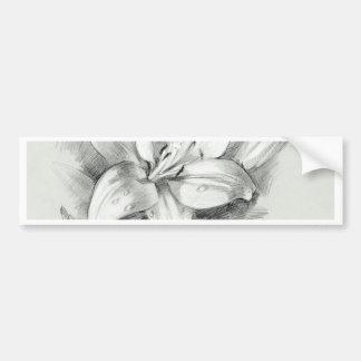 lily-2 bumper sticker