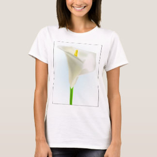 lily-33575 lily flower calla bloom cartoon drawing T-Shirt