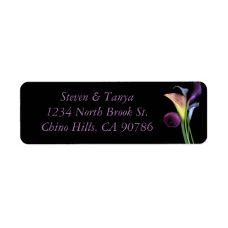 Lily Address Label